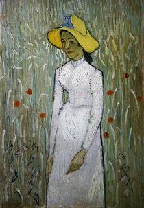V.van Gogh, Junges Maedchen vor Weizenf. von AKG  Images