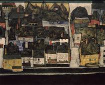 Egon Schiele, Krumau an der Moldau by AKG  Images
