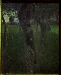 Gustav Klimt, Obstgarten am Abend by AKG  Images
