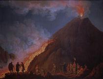 Vesuv, Ausbruch 1774 / Gem.v.Hackert by AKG  Images