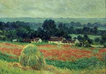 C.Monet, Der Heuhaufen von AKG  Images