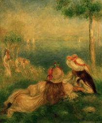 A.Renoir, Junge Maedchen an der Kueste by AKG  Images