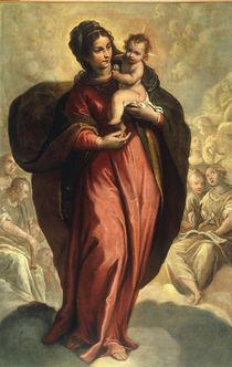Veronese Werkstatt, Maria mit Kind von AKG  Images