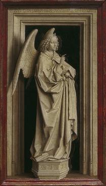 J.van Eyck, Diptychon der Verkuendigung von AKG  Images