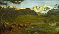 G.Segantini,Leben (Alpen Triptychon) von AKG  Images