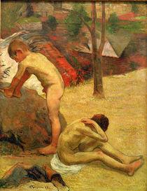 P.Gauguin, Badende bretonische Knaben by AKG  Images