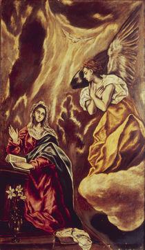 El Greco, Verkuendigung an Maria by AKG  Images