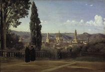 C.Corot/Florenz v.d.Boboli Gaerten aus by AKG  Images