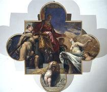 Veronese, Herkules und Ceres vor Venetia by AKG  Images