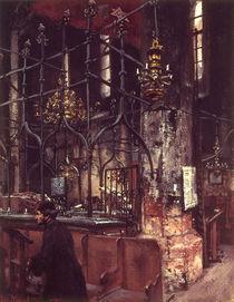 A.von Menzel, Alte Synagoge in Prag/1888 by AKG  Images