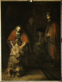 Rembrandt, Heimkehr verlorener Sohn by AKG  Images