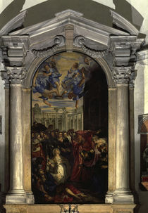 Tintoretto, Agnes erweckt Licinius by AKG  Images