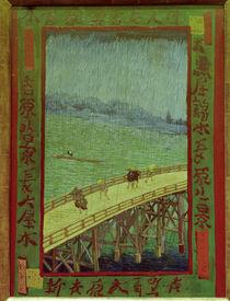 van Gogh n.Hiroshige, Bruecke im Regen by AKG  Images