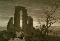 C.D.Friedrich, Der Winter (Eldena)/1826 by AKG  Images