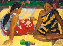 P. Gauguin, Zwei Frauen auf Tahiti by AKG  Images