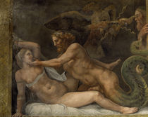 Giulio Romano, Jupiter und Olympias von AKG  Images