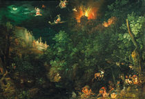 J.Brueghel d.Ae., Versuchung Antonius von AKG  Images