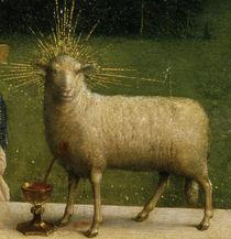 J.v.Eyck, Genter Altar, Lamm von AKG  Images