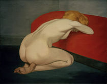 F.Vallotton, Kniender Akt by AKG  Images