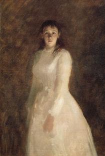 I.N.Kramskoi, Bildnis junge Frau von AKG  Images