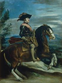 Philipp IV. zu Pferde /  Velasquez von AKG  Images