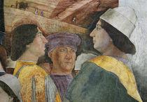 Federico I. Gonzaga / Fresko v.Mantegna by AKG  Images