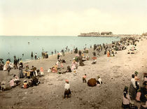 Morecambe, Strand / Photochrom by AKG  Images
