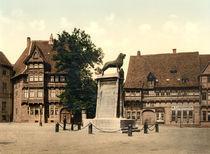 Braunschweig, Burgplatz / Photochrom by AKG  Images