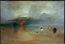 William Turner, Strand von Calais by AKG  Images