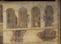 A.Lorenzetti, Vandale demolieren Gebaeude by AKG  Images