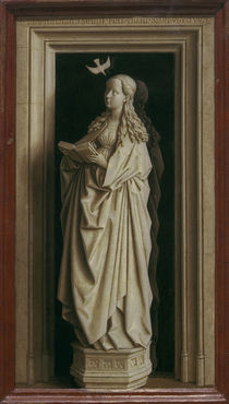 J.van Eyck, Diptychon der Verkuendigung by AKG  Images