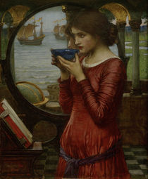 J.W.Waterhouse, Destiny / Gem., 1900 von AKG  Images