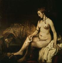 Rembrandt, Bathseba im Bade by AKG  Images