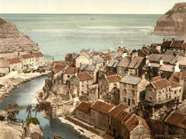 Whitby, Staithes / Photochrom by AKG  Images