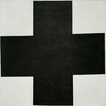 K.Malewitsch, Schwarzes Kreuz by AKG  Images