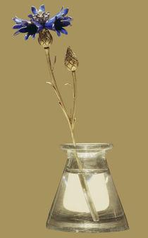 Kornblume / Faberge / Bergkristall, Gold von AKG  Images