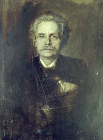 Edvard Grieg / Lenbach by AKG  Images