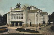 Giessen a.d.Lahn, Stadttheater / Postk. von AKG  Images