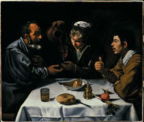 D.Velazquez, Bauern bei Tisch by AKG  Images