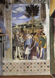 Lodovico Gonzaga u. Sohn / A.Mantegna von AKG  Images