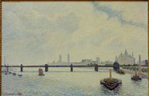 C.Pissarro, Charing Cross Bridge by AKG  Images