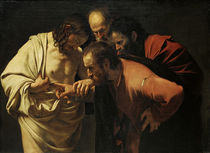 Caravaggio, Der unglaeubige Thomas by AKG  Images
