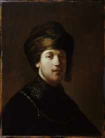 Rembrandt, Junger Orientale by AKG  Images