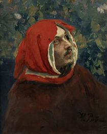 Dante Alighieri/ Gemaelde von Repin von AKG  Images