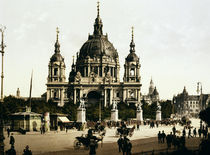 Berlin, Dom / Photochrom 1905 by AKG  Images