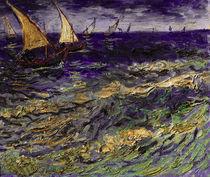 Van Gogh/Fischerboote bei Saintes Maries by AKG  Images