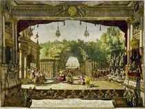 Canaletto,Szenenbild,'Les Turcs genereux by AKG  Images