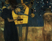G.Klimt, Die Musik / 1895 by AKG  Images