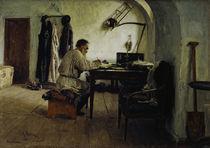 Leo Tolstoj im Schreibzimmer / Repin by AKG  Images