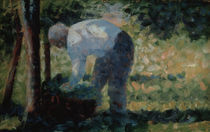 G.Seurat, Bauer mit Korb by AKG  Images